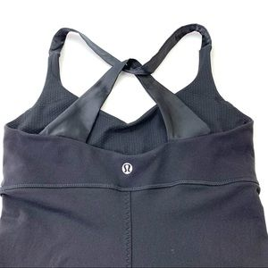 Lululemon active top- Xback, non-pads size: 4